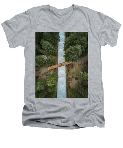 Bridge The Gap Men's V-Neck T-Shirt