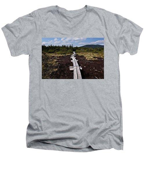 Bridge To Mizpah Men's V-Neck T-Shirt