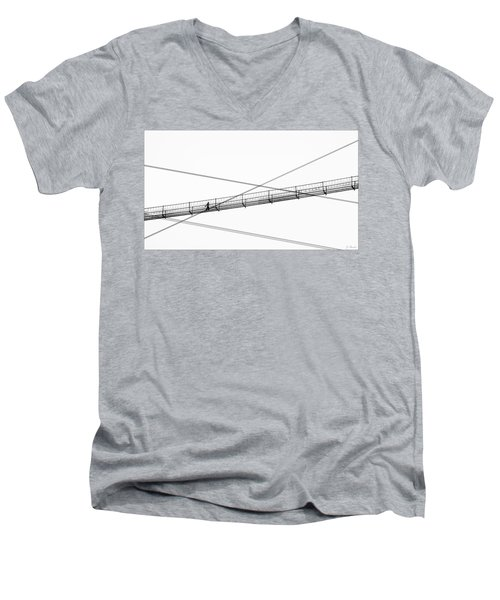 Bridge Walker Men's V-Neck T-Shirt