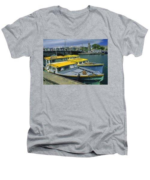 Bridgetown, Barbados Men's V-Neck T-Shirt