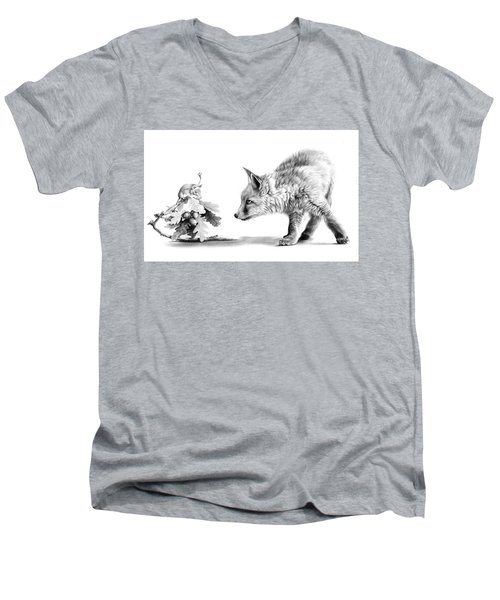 Brief Encounter Men's V-Neck T-Shirt