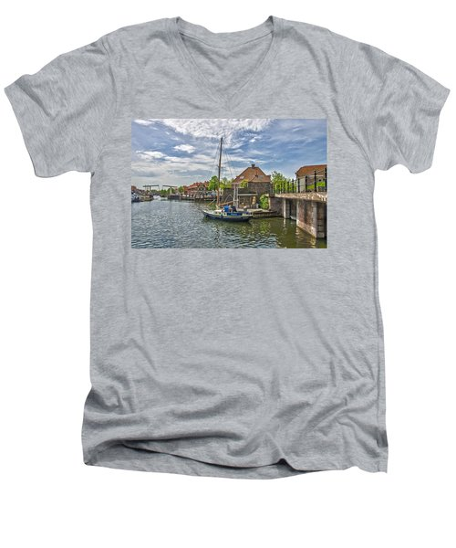 Brielle Harbour Men's V-Neck T-Shirt