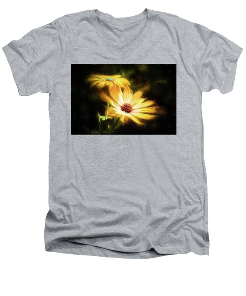 Brightest Sun Shining Men's V-Neck T-Shirt