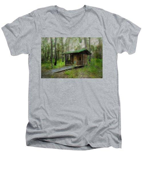 Brimbin Nature Reserve 01 Men's V-Neck T-Shirt by Kevin Chippindall