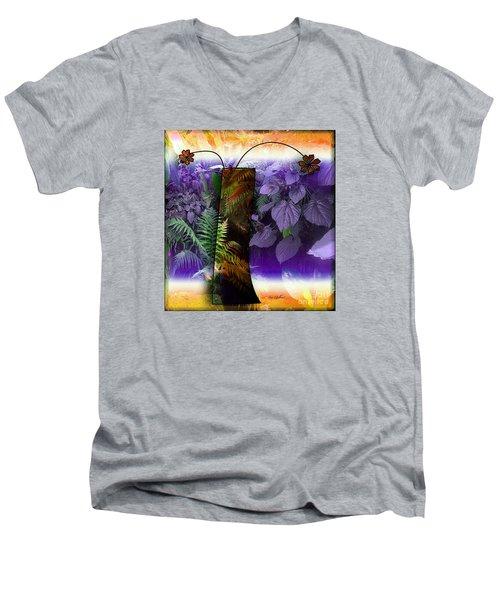 Bring Wonderland Home Men's V-Neck T-Shirt