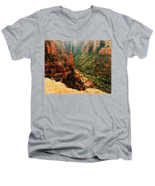 Brins Mesa 07-143 Men's V-Neck T-Shirt