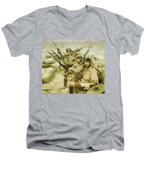 British Sas Men's V-Neck T-Shirt