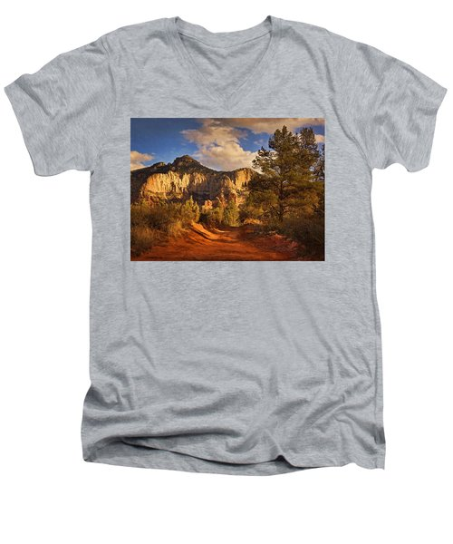 Broken Arrow Trail Pnt Men's V-Neck T-Shirt