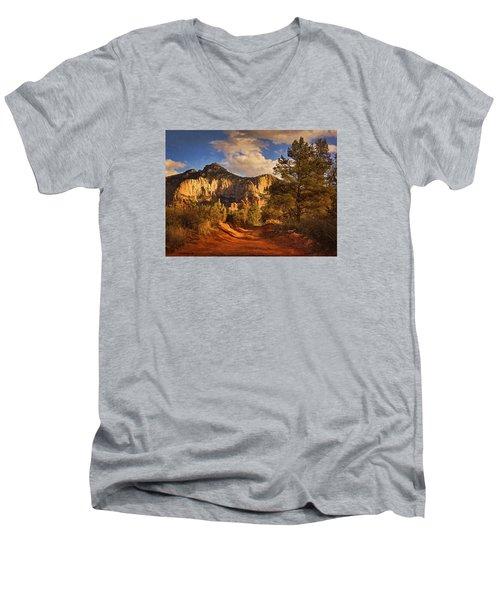 Broken Arrow Trail Pnt Men's V-Neck T-Shirt