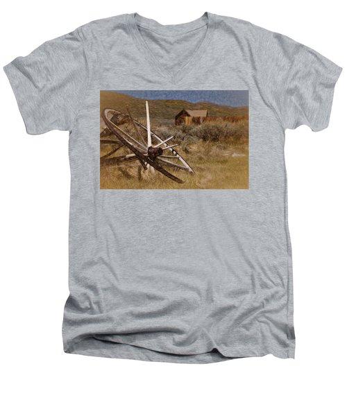 Broken Spokes Men's V-Neck T-Shirt