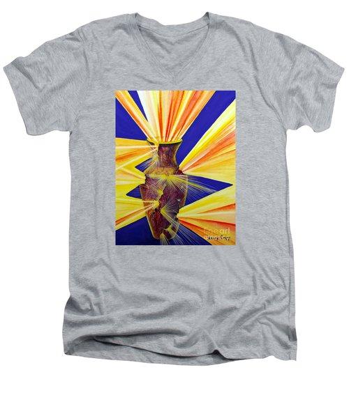 Broken Vessel Men's V-Neck T-Shirt