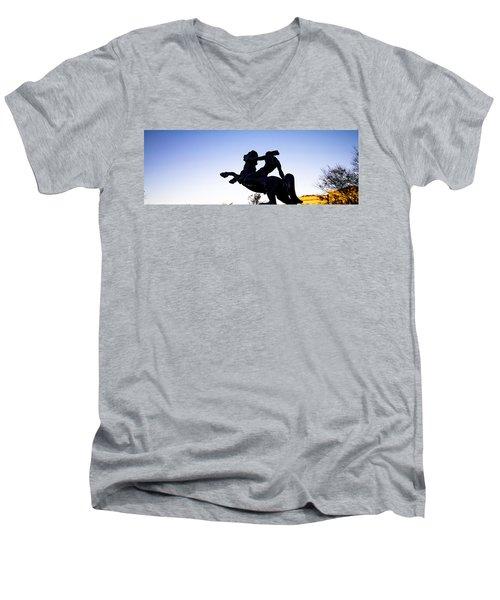 Bronco Men's V-Neck T-Shirt