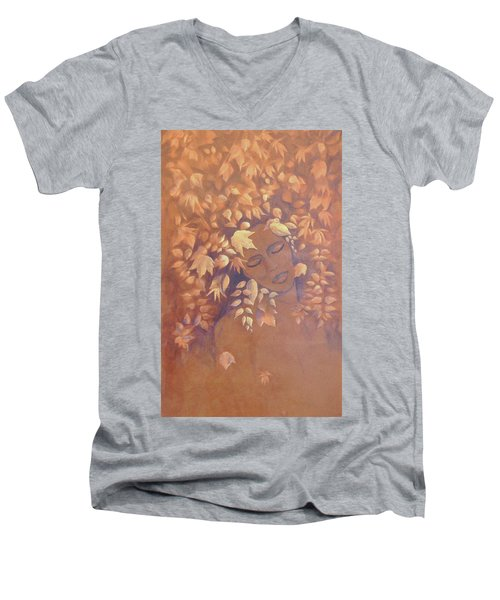Bronze Beauty Men's V-Neck T-Shirt