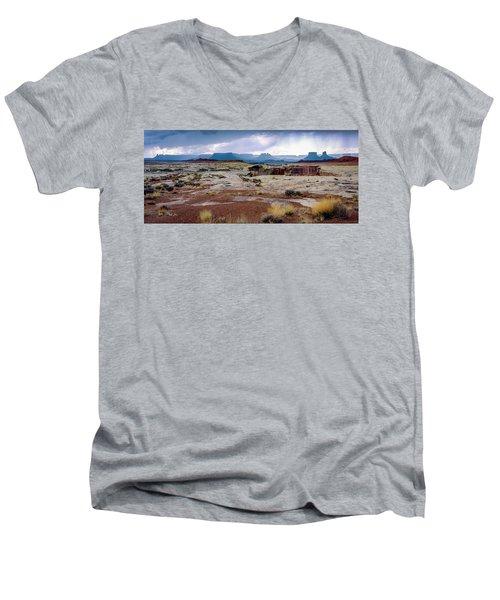 Brooding Sky Summer Storm Men's V-Neck T-Shirt