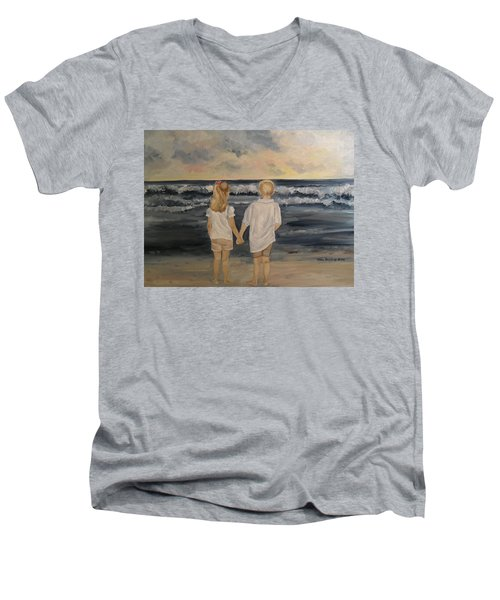 Brother And Sister Men's V-Neck T-Shirt