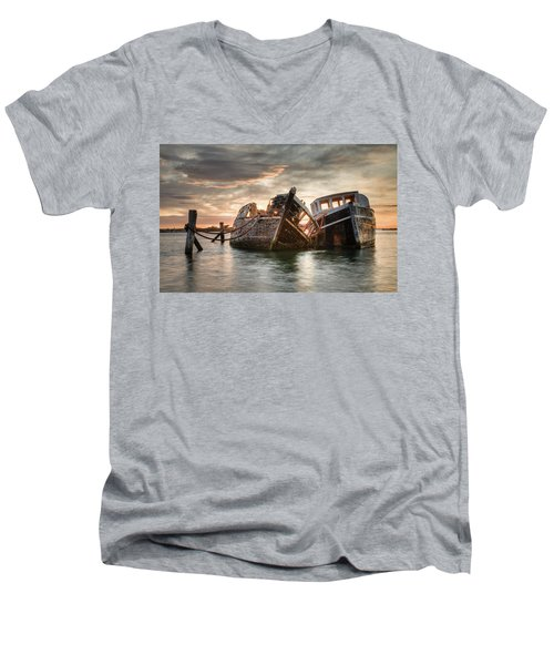Brothers In Arms Men's V-Neck T-Shirt