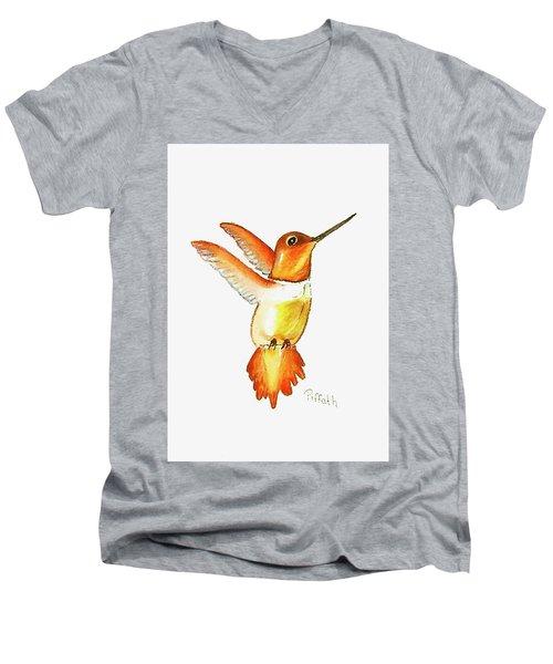 Brown Hummer Men's V-Neck T-Shirt