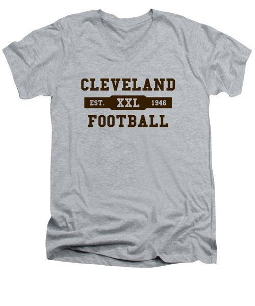 Browns Retro Shirt Men's V-Neck T-Shirt