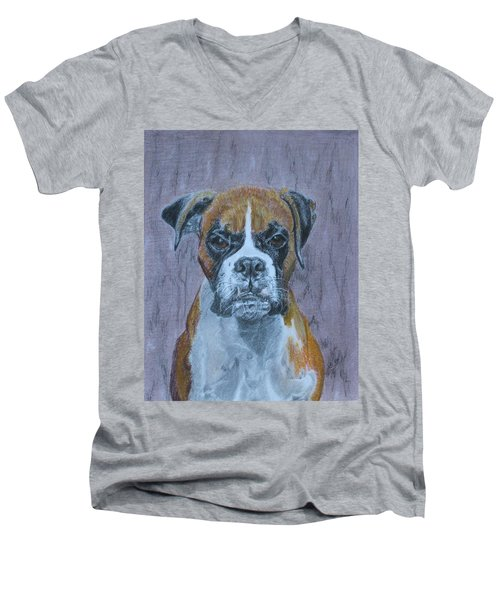 Bruce Men's V-Neck T-Shirt