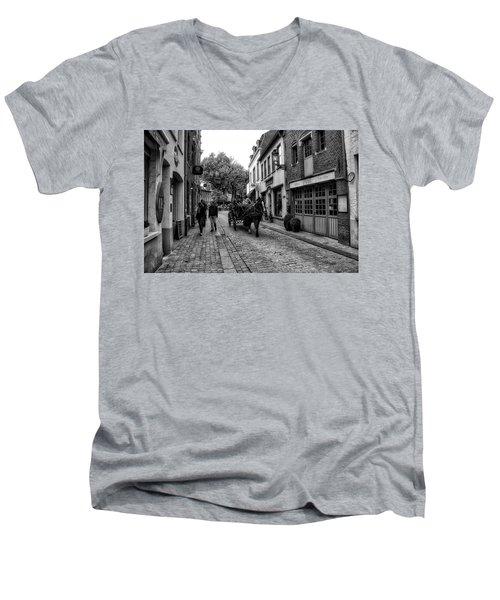 Bruges Bw5 Men's V-Neck T-Shirt