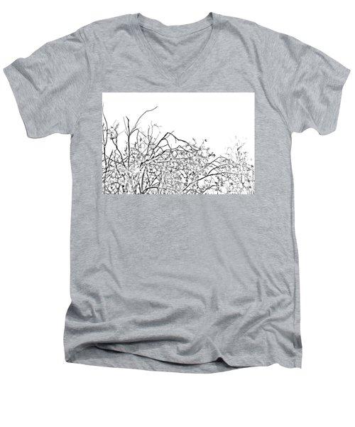 Brush Men's V-Neck T-Shirt