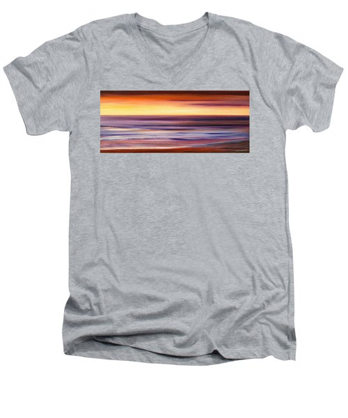 Brushed 2 Men's V-Neck T-Shirt