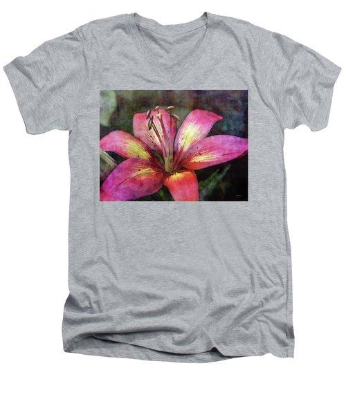 Brushed 3454 Idp_2 Men's V-Neck T-Shirt