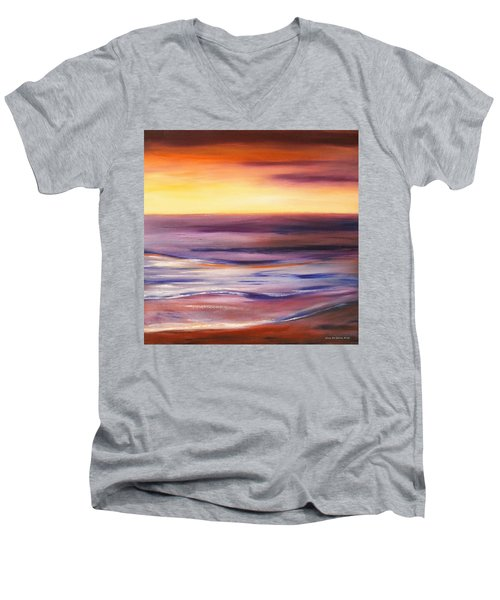 Brushed 9 Men's V-Neck T-Shirt