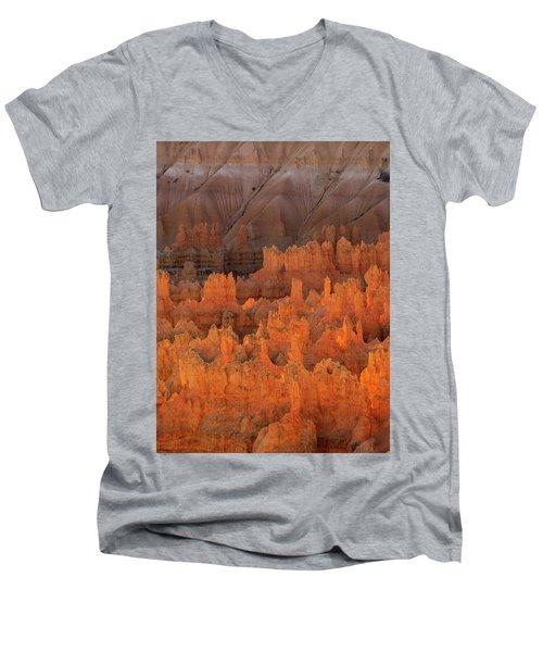 Bryce Hoodoos Men's V-Neck T-Shirt