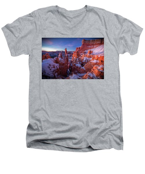 Bryce Tales Men's V-Neck T-Shirt