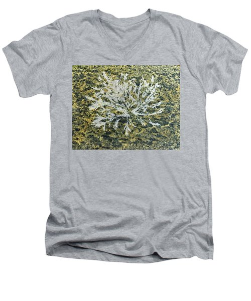 Bryozoan Life Men's V-Neck T-Shirt