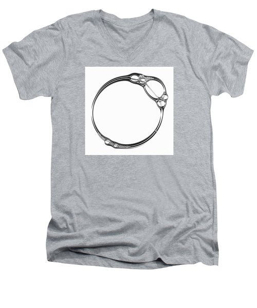 Bubble Men's V-Neck T-Shirt