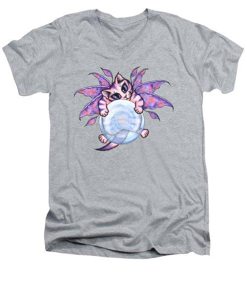 Bubble Fairy Kitten Men's V-Neck T-Shirt