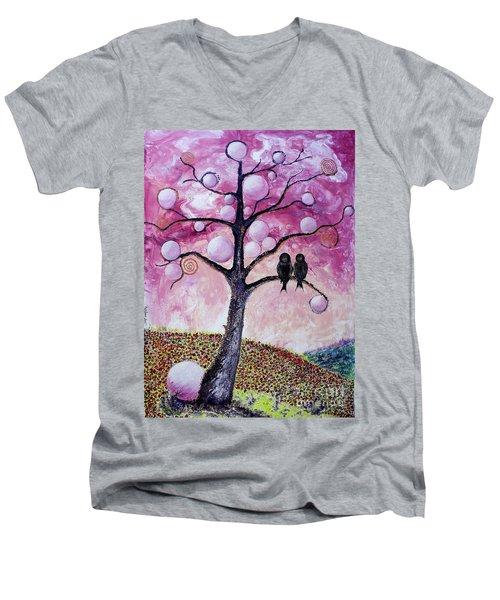 Bubbletree Men's V-Neck T-Shirt