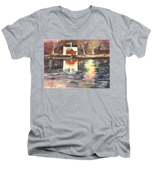 Bucks County Playhouse Men's V-Neck T-Shirt