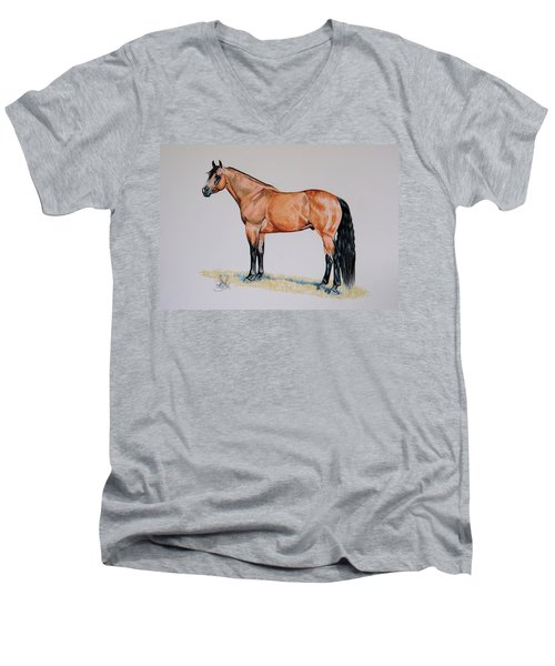 Buckskin Beauty Men's V-Neck T-Shirt