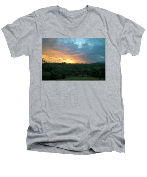 Bucolic Vinales Men's V-Neck T-Shirt