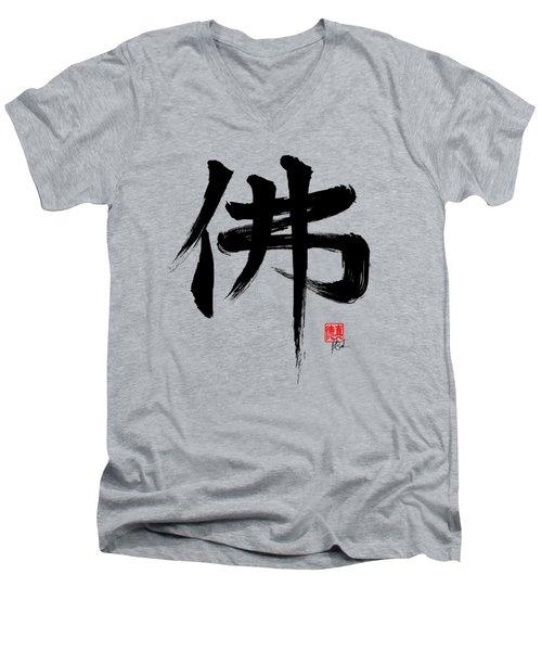 Buddha T-shirt Men's V-Neck T-Shirt
