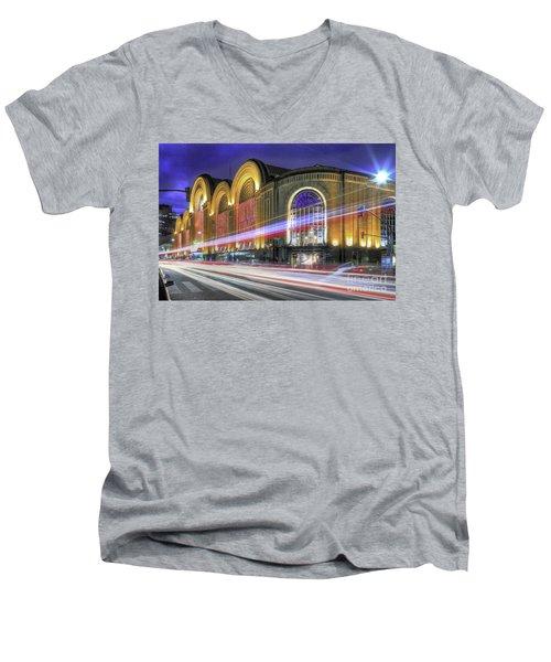 Buenos Aires 002 Men's V-Neck T-Shirt by Bernardo Galmarini