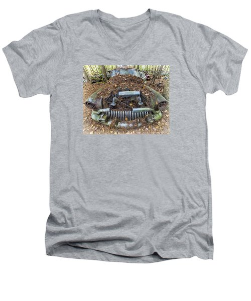 Buick In Decay Men's V-Neck T-Shirt