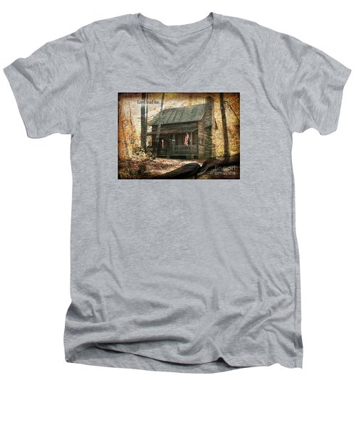 Build Your Life On His Word Men's V-Neck T-Shirt