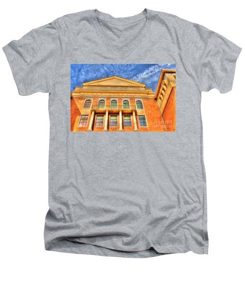 Building In Budapest Men's V-Neck T-Shirt