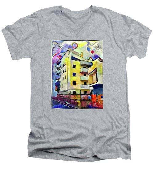 Building Site #1 Men's V-Neck T-Shirt