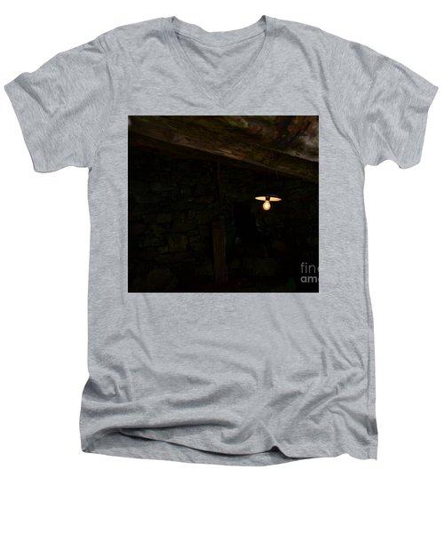 Bulb Men's V-Neck T-Shirt