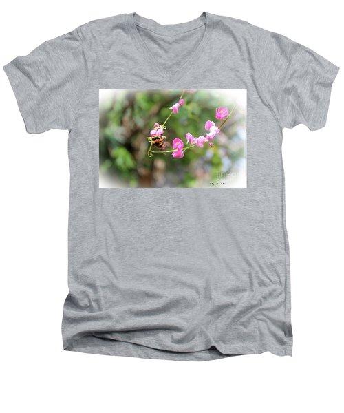 Bumble Bee2 Men's V-Neck T-Shirt