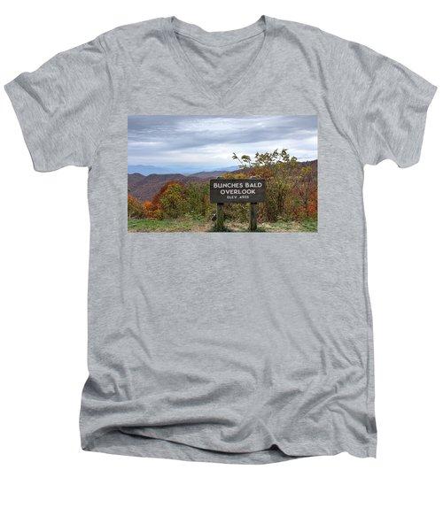 Bunches Bald Men's V-Neck T-Shirt