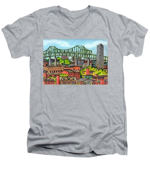 Bunkerhill And Tobin Men's V-Neck T-Shirt
