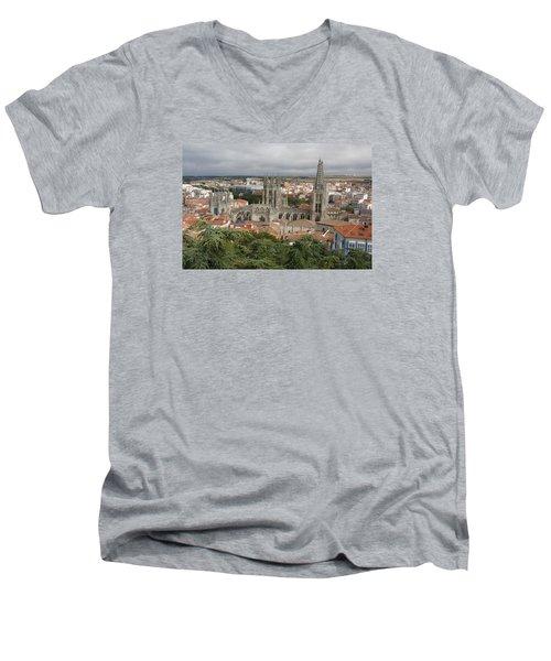 Burgos Men's V-Neck T-Shirt by Christian Zesewitz
