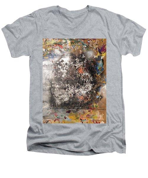 Burn Crackle Fizz Men's V-Neck T-Shirt