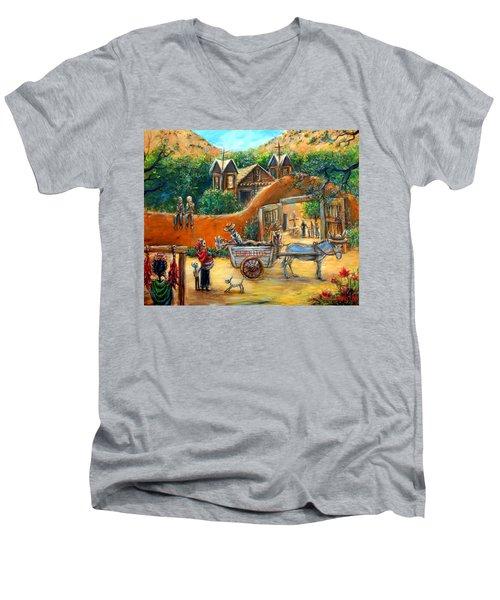 Burritos Men's V-Neck T-Shirt